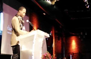 Diondre stunned a crowd of over 450 attendees with his bravery and candor.