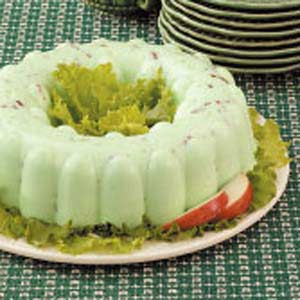Lemon-lime Cottage Cheese Jello Salad is a part of a proud tradition of Minnesotan fruit salads.