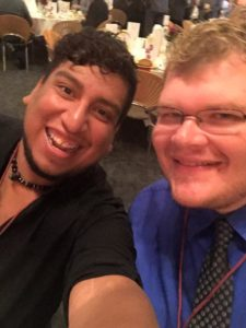 Patrick and Brad take a selfie at our last Annual Fundraising Breakfast.